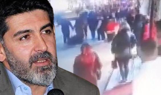 Gazeteci Gültekin'e saldırı anı kamerada!