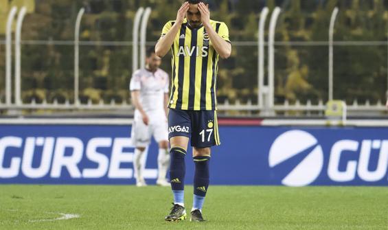 Fenerbahçe sahasında Gençlerbirliği'ne de mağlup oldu