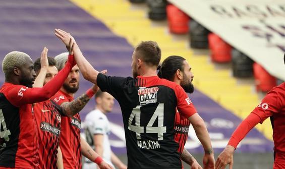 Gaziantep FK, Denizlispor'u 2 golle geçti