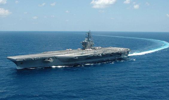 MSB duyurdu: Doğu Akdeniz'de ABD uçak gemisi...