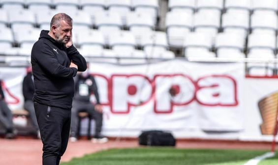 Erzurumspor'da Mesut Bakkal dönemi sona erdi