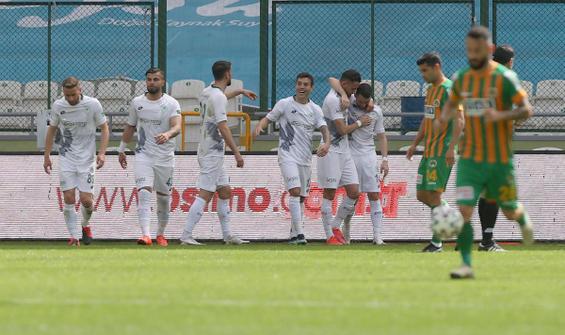 Konyaspor, Alanyaspor'u tek golle geçti