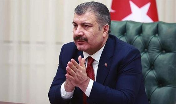 Bakan Koca'dan Erdoğan'a tebrik!