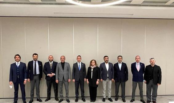 Ali Koç'tan Ankara bölgesi kulüplerine ziyaret