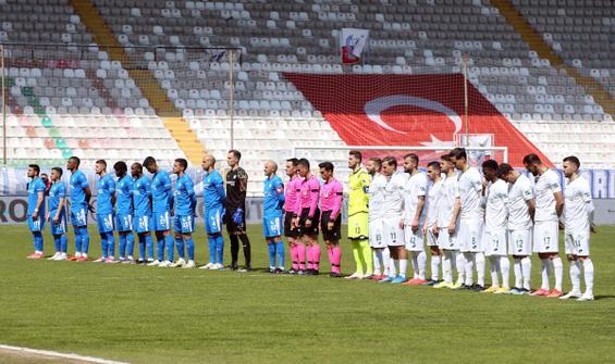 Erzurum'da kazanan Konyaspor