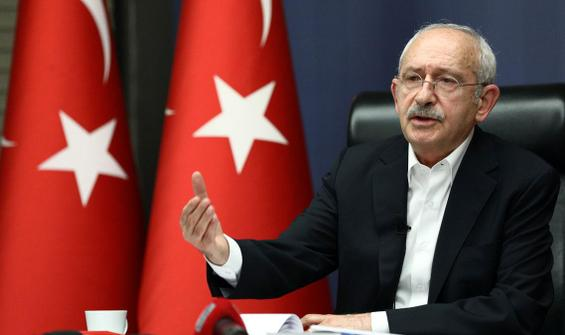 CHP lideri Kılıçdaroğlu'dan bildiri açıklaması