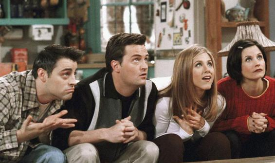 Friends özel bölümü için çekimler başlıyor