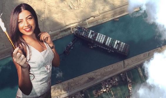 Süveyş'te sıkışan geminin faturası kadın kaptana kesildi