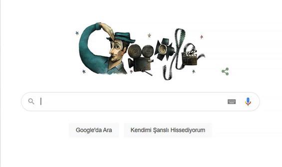 Google'dan Sadri Alışık'a özel doodle