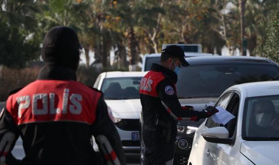 Kısıtlamalara uymayan 26 bin 649 kişiye ceza