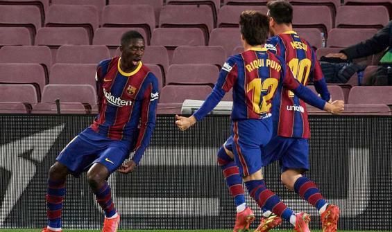 Barcelona, Valladolid'i son dakikada attığı golle yendi