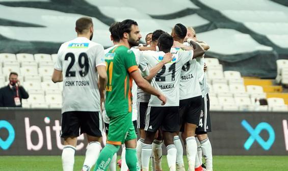 Lider Beşiktaş 3 puanı 3 golle aldı