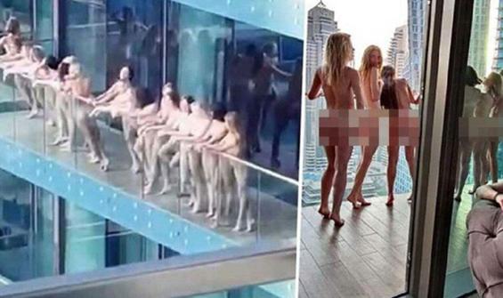 Çıplak fotoğraf çektiren modellere şok üstüne şok!