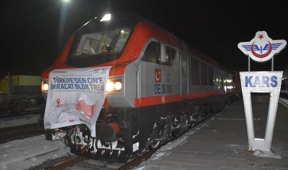 Çin'e yapılan bor ihracatında ikinci tren yola çıktı