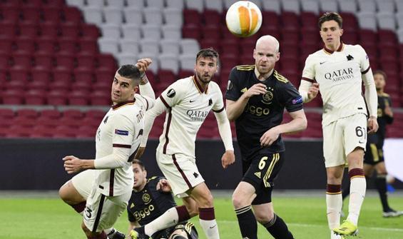 Roma, Ajax'ı deplasmanda mağlup etti