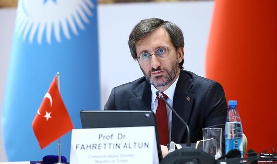 Fahrettin Altun'dan Bakü'de Türk dünyasına çağrı: Dezenformasyona karşı güçlerimizi birleştirelim