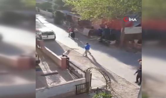 Komşuların kavgası kısıtlama tanımadı