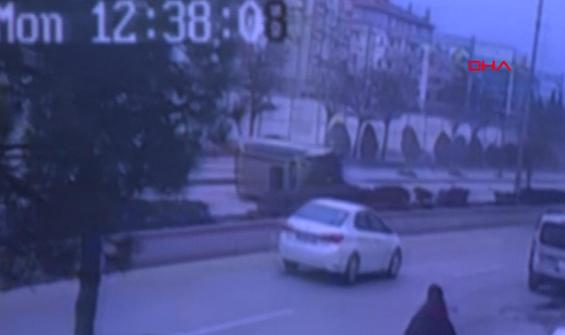 Korkunç kaza kamerada! 200 metre boyunca sürüklendi