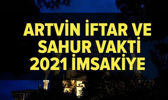 Artvin imsakiye 2021