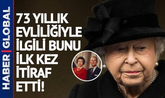 Kraliçe Elizabeth, 73 yıl sonra Philip için bunu söyledi!