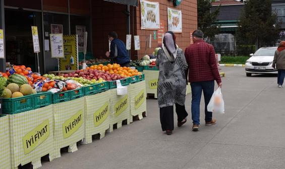 Market poşetiyle kısıtlamayı aşıyorlar!