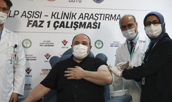 Bakan Varank, yerli Kovid-19 aşısı oldu