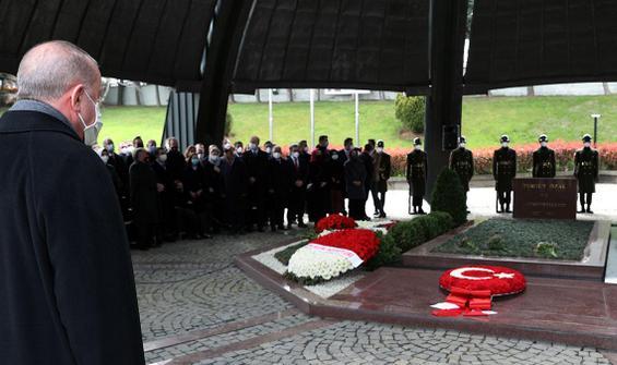 Cumhurbaşkanı Erdoğan, Özal'ı anma töreninde