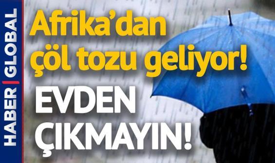 İstanbul için çöl tozu alarmı! Bünyamin Sürmeli uyardı: Hafta çamurla başlayacak!