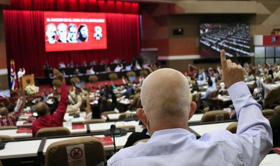 Küba Devlet Başkanı PCC'nin yeni Genel Sekreteri seçildi