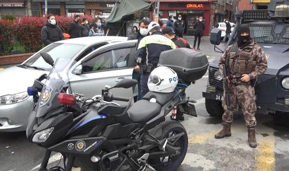 Okmeydanı'nda polis giriş-çıkışları kapattı
