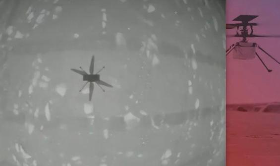 Tarihi gün: NASA, Mars'ta ilk kez helikopter uçurdu