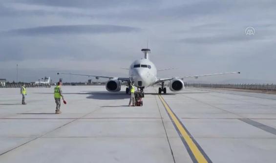 E-7T HİK uçağı ile ilk defa başka bir NATO ülkesi hava sahasında görev icra edildi