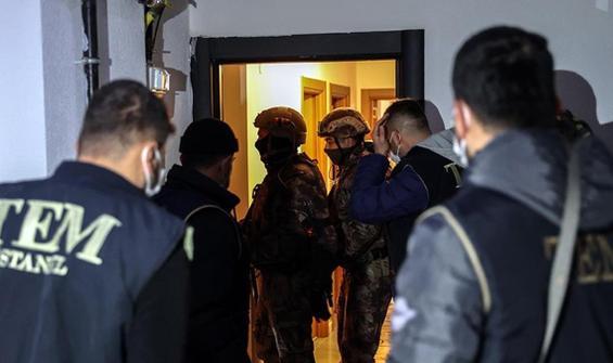 İstanbul'da terör örgütü DEAŞ operasyonu