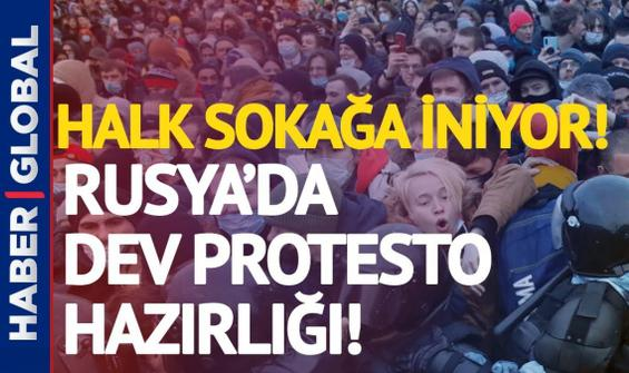 Putin'e bir şok da halktan! Büyük protesto başlıyor!