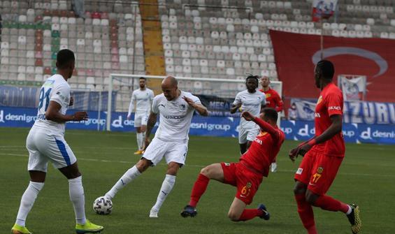 Erzurumspor 90+6'da güldü