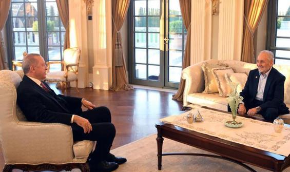 Erdoğan, Oğuzhan Asiltürk ile iftar yaptı