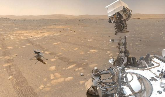 MOXIE Mars'ta oksijen üretti!