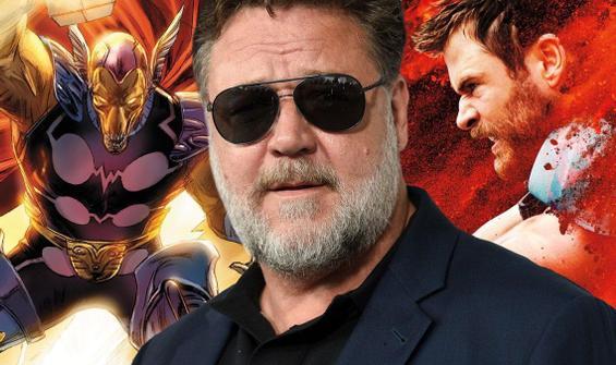 Russell Crowe'dan yeni Thor sürprizi