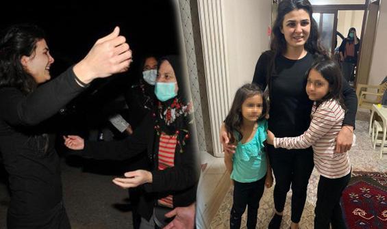 Melek İpek kızlarıyla tatile çıktı