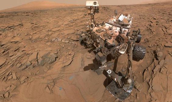 Mars'tan ilk fotoğraflar dünyaya ulaştı