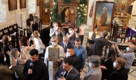 Hz. İsa'nın temsili cenaze töreni ayini düzenlendi