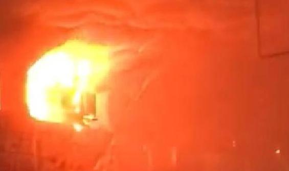 Adana Otogarı'nda korkutan yangın