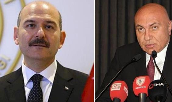 Soylu'dan Samsunspor Başkanı'na suç duyurusu