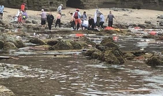 Kaliforniya açıklarında gemi alabora oldu: 2 ölü