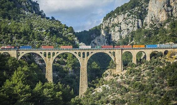 Demiryollarında taşımacılık arttı