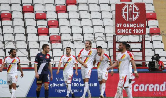 Göztepe, Antalya'dan 3 puanla döndü