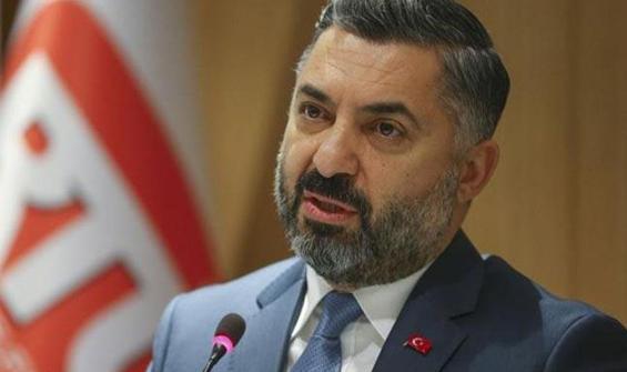 RTÜK Başkanı Şahin'den 'mesaj' açıklaması!