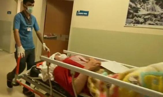 Telefonla konuşurken pencereden düştü, ağır yaralandı