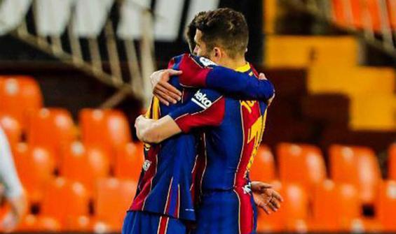Barcelona Valencia'yı devirdi