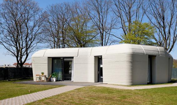 3 boyutlu baskı ile inşa edilen evde yaşam başladı
